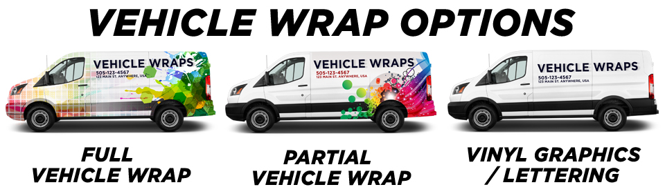 Nesconset Vehicle Wraps & Graphics vehicle wrap options
